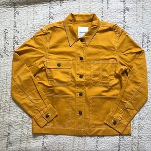 99d070772 Madewell Cropped Chore Jacket NWT